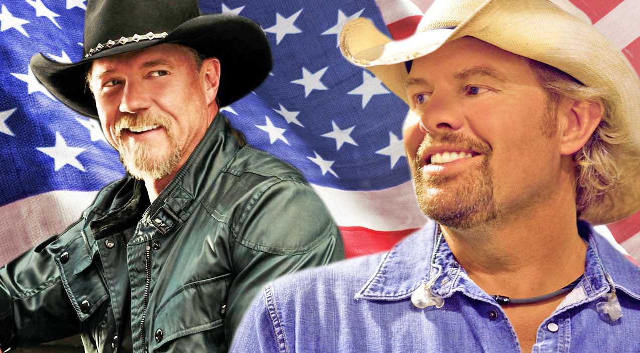 Trace adkins Songs | Toby Keith & Trace Adkins Team Up To Honor America on 9/11 | Country Music Videos