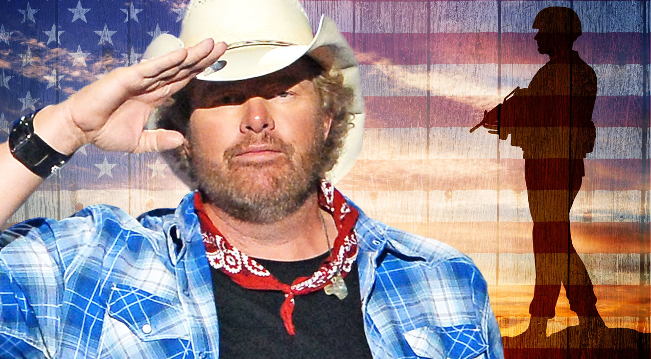 Toby keith Songs | Toby Keith Pays Tribute To Military With 'American Soldier' To A Crowd Of Service Members | Country Music Videos