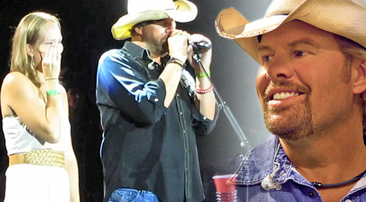 Toby keith Songs | Toby Keith Surprises Woman with Her Military Husband Home from Afghanistan (WATCH) | Country Music Videos