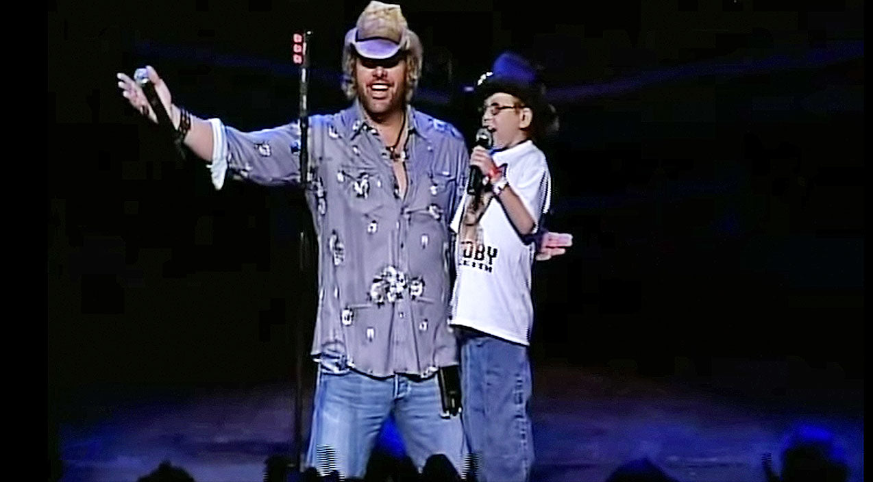 Toby keith Songs | Toby Keith Makes Dream Come True For Young Boy With Liver Disease | Country Music Videos