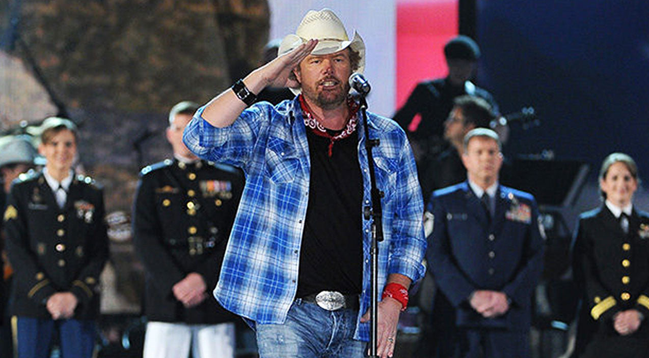a9770568e9e52 Toby Keith Bleeds Patriotism   Respect In Outstanding Inauguration  Performance