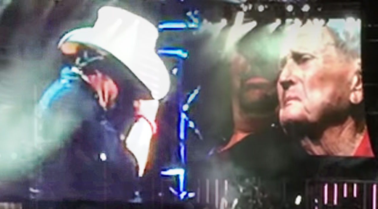 Toby keith Songs | Toby Keith Is Overcome With Emotion After Bringing 93-Year-Old Veteran On Stage | Country Music Videos