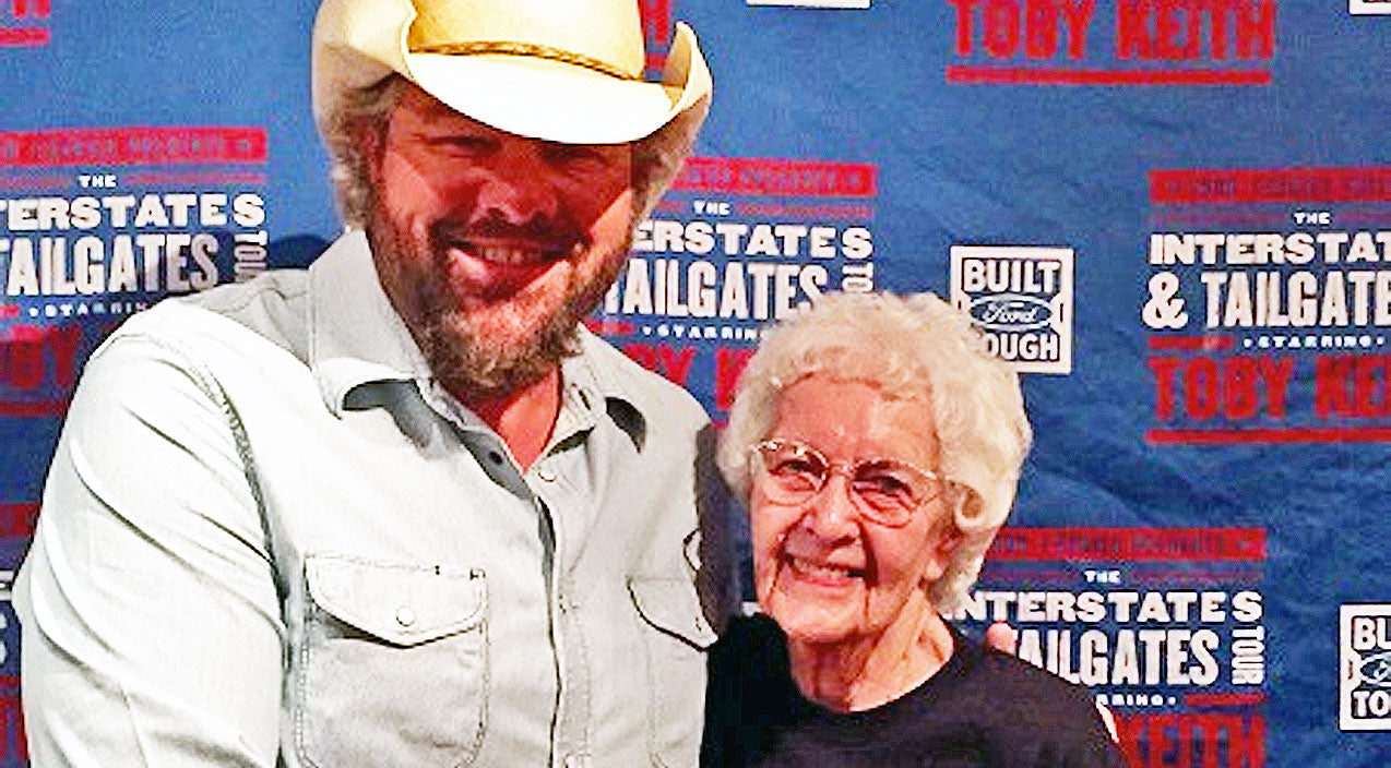 Toby keith Songs | Toby Keith Superfan Gets Ultimate 100th Birthday Gift | Country Music Videos