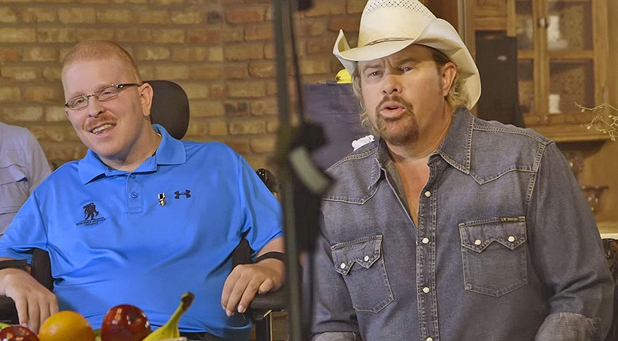 Toby keith Songs | Toby Keith Has Emotional Meet And Greet With Wounded Warriors | Country Music Videos
