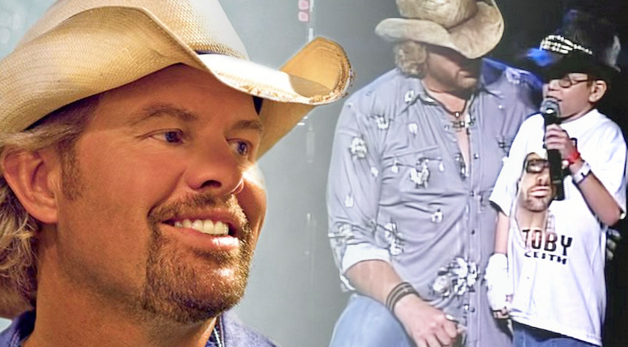 Toby keith Songs | Toby Keith Makes This Young Boy's Dreams Come True And It Will Bring You To Tears | Country Music Videos