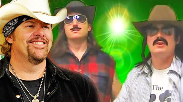Toby keith Songs | Courtesy of the Red, White, and Green (Toby Keith Parody) (VIDEO) | Country Music Videos