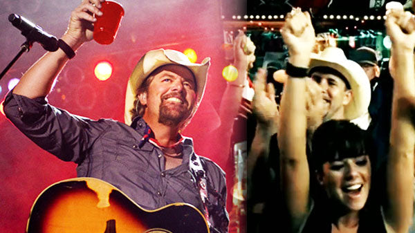 Toby keith Songs | Toby Keith - I Love This Bar | Country Music Videos