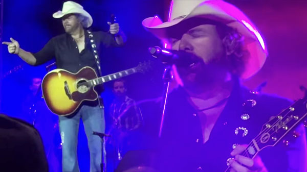 Toby keith Songs | Toby Keith - Should've Been a Cowboy (LIVE) | Country Music Videos