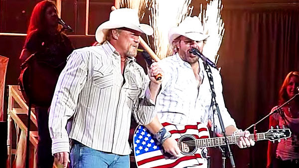 Trace adkins Songs | Toby Keith & Trace Adkins - Courtesy of the Red, White, & Blue (WATCH) | Country Music Videos