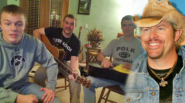 Toby keith Songs   Three College Guys Cover Toby Keith's