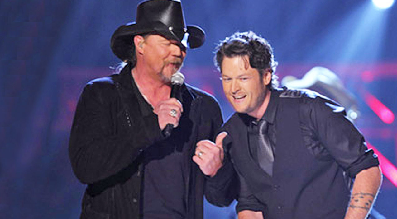 Trace adkins Songs | Remember When Trace & Blake Tore Up The ACM Awards With An Epic Performance Of 'Hillbilly Bone'? | Country Music Videos