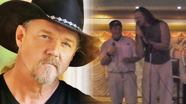 Trace adkins Songs   Trace Adkins Surprises Man With Duet To