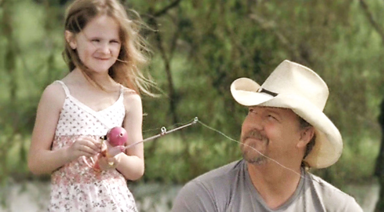 Trace adkins Songs | Precious Memories Between Father & Daughter Are Made In Trace Adkins' 'Just Fishin'' | Country Music Videos