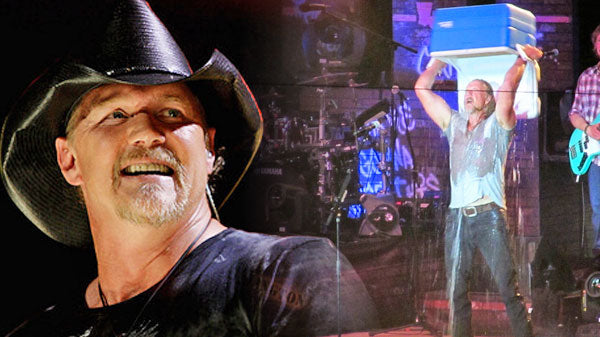 Trace adkins Songs | Trace Adkins Does The ALS Ice Bucket Challenge (Live) | Country Music Videos