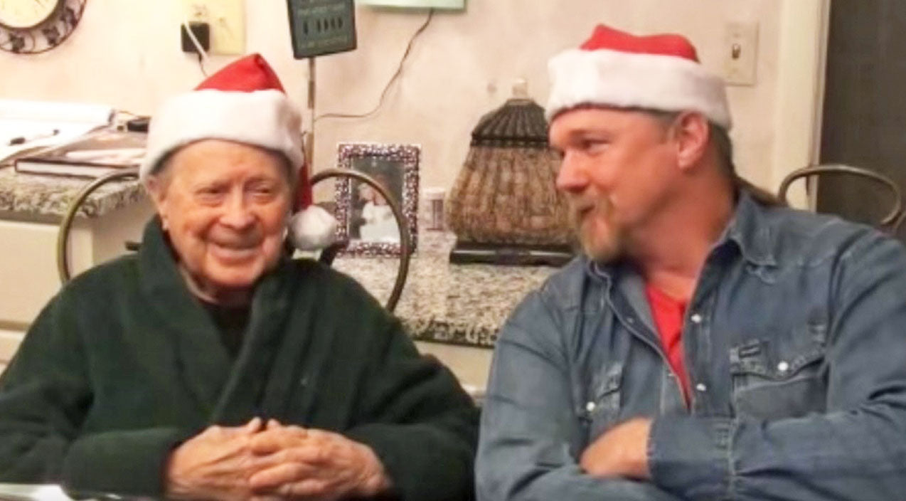 Trace adkins Songs | Country Legend Little Jimmy Dickens Shares His Fondest Christmas Memories With Trace Adkins | Country Music Videos