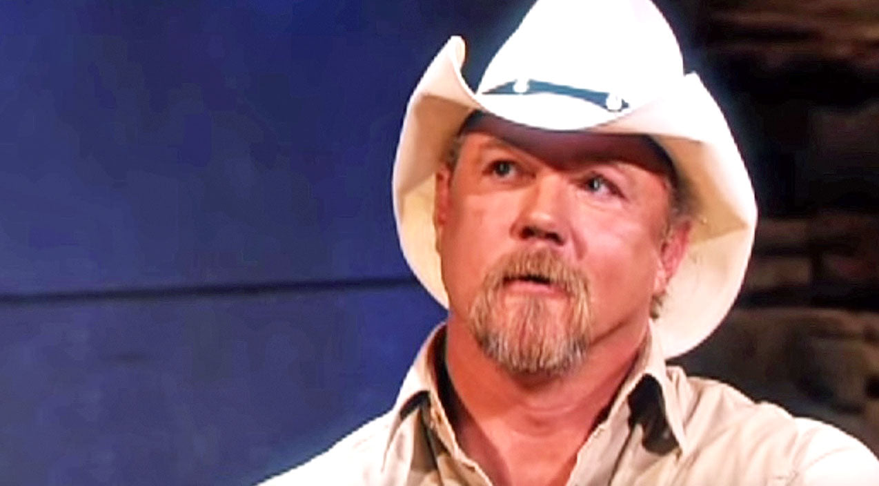 Trace adkins Songs | Trace Adkins Reveals The Reason Why He Just Had To Record 'Just Fishin'' | Country Music Videos