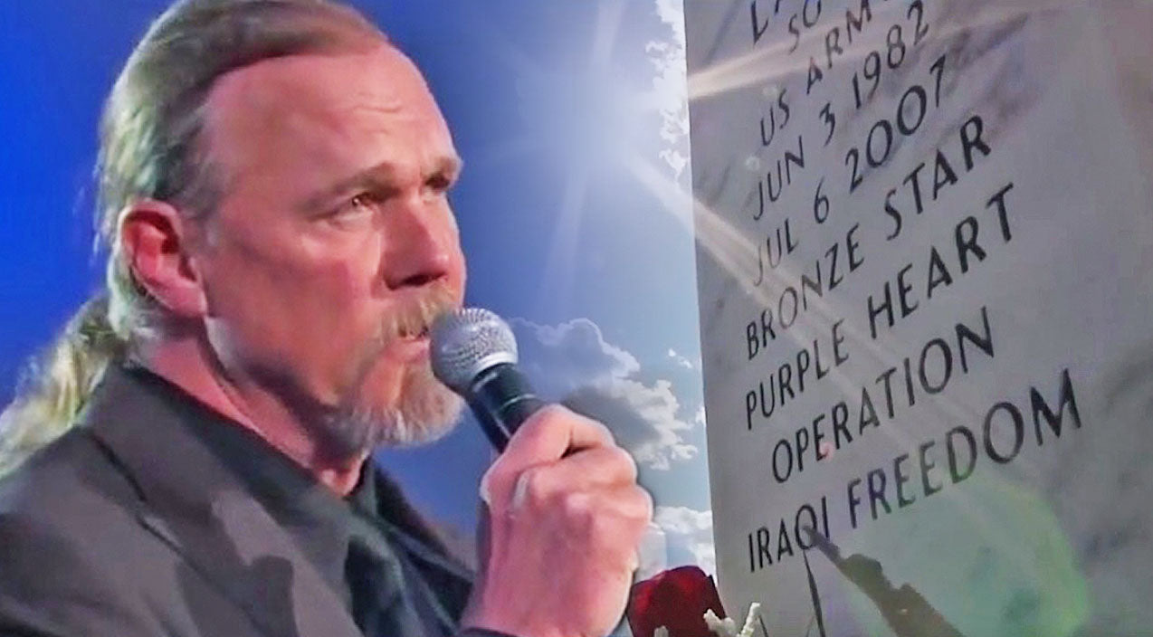 Trace adkins Songs | Trace Adkins Memorializes Our Fallen Heroes With Compelling Tribute Performance Of 'Arlington' | Country Music Videos