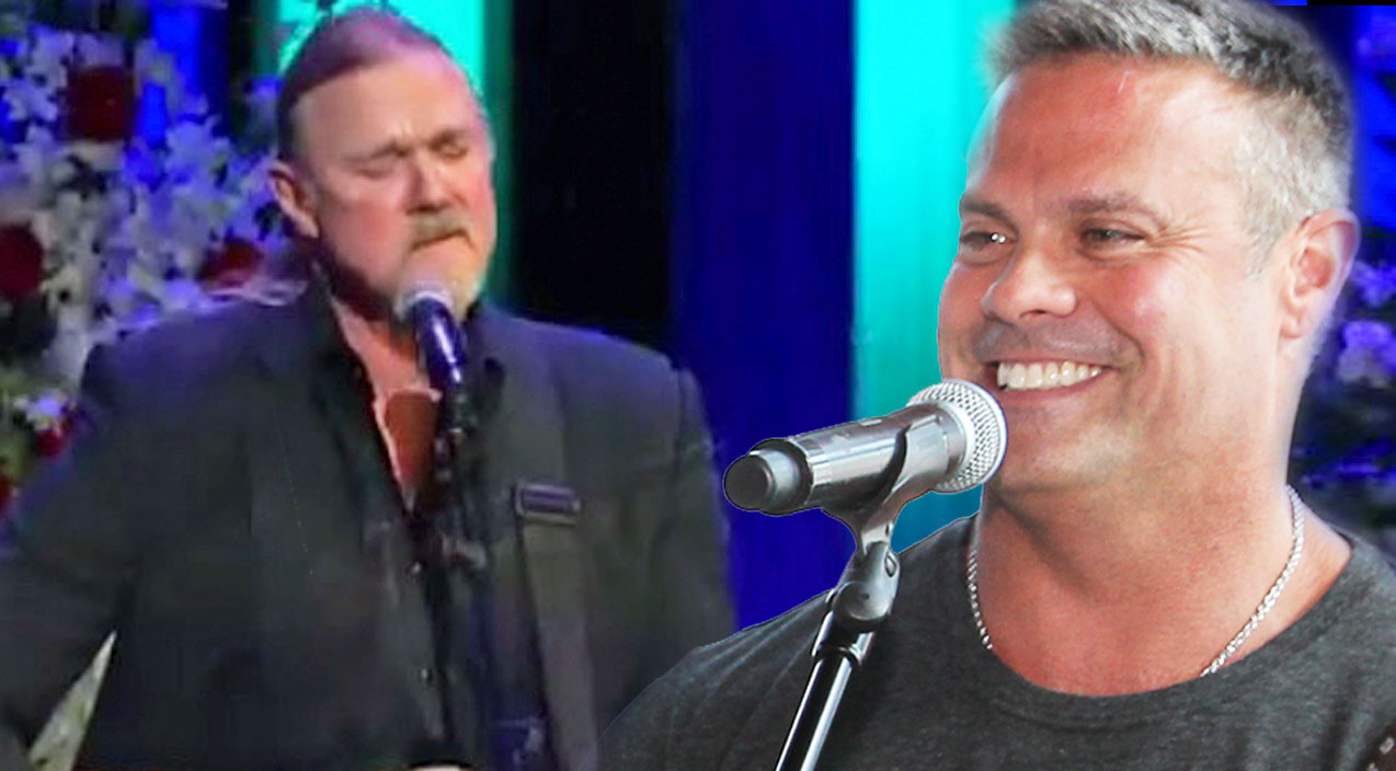 Troy gentry Songs | Trace Adkins Memorializes 'Longtime Friend' Troy Gentry With Soul-Stirring 'Wayfaring Stranger' | Country Music Videos