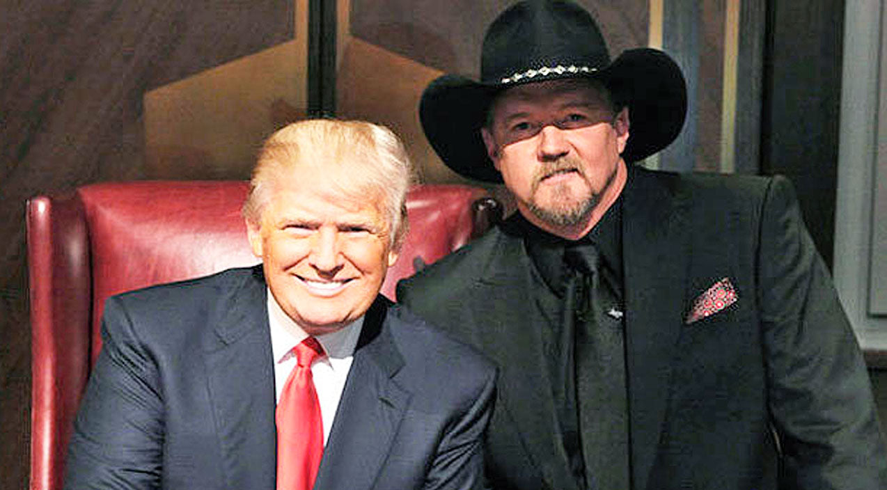 Trace adkins Songs | Trace Adkins Shares His Thoughts On Former 'Apprentice' Boss Donald Trump | Country Music Videos