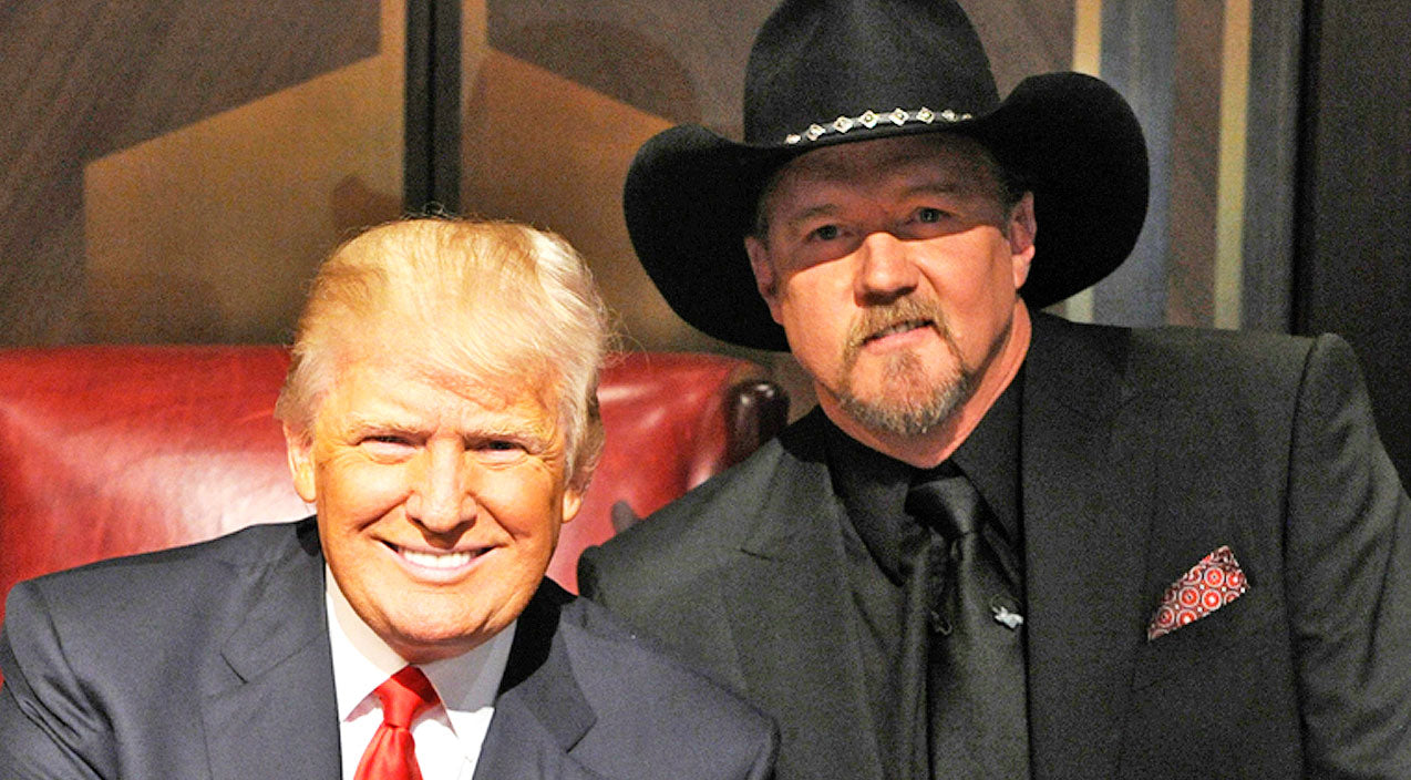 Trace adkins Songs | Trace Adkins Reveals His Opinion On Presidential Candidate Donald Trump | Country Music Videos