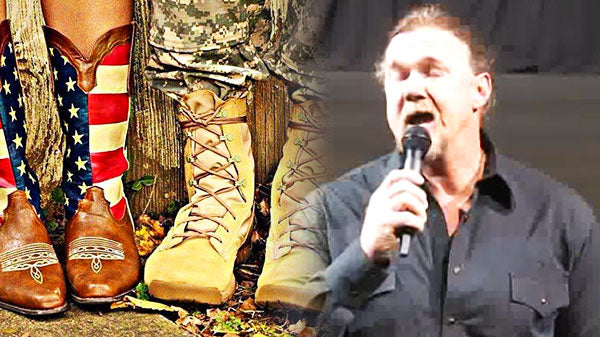 Trace adkins Songs | Trace Atkins Singing the National Anthem for Families of Fort Campbell Soldiers (WATCH) | Country Music Videos