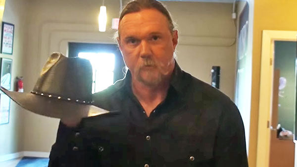 Trace adkins Songs | Trace Adkins Teaches You How To Fold His Cowboy Hat (WATCH) | Country Music Videos