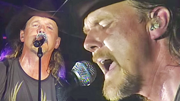 Trace adkins Songs | Trace Adkins - I Wanna Feel Something (LIVE) | Country Music Videos