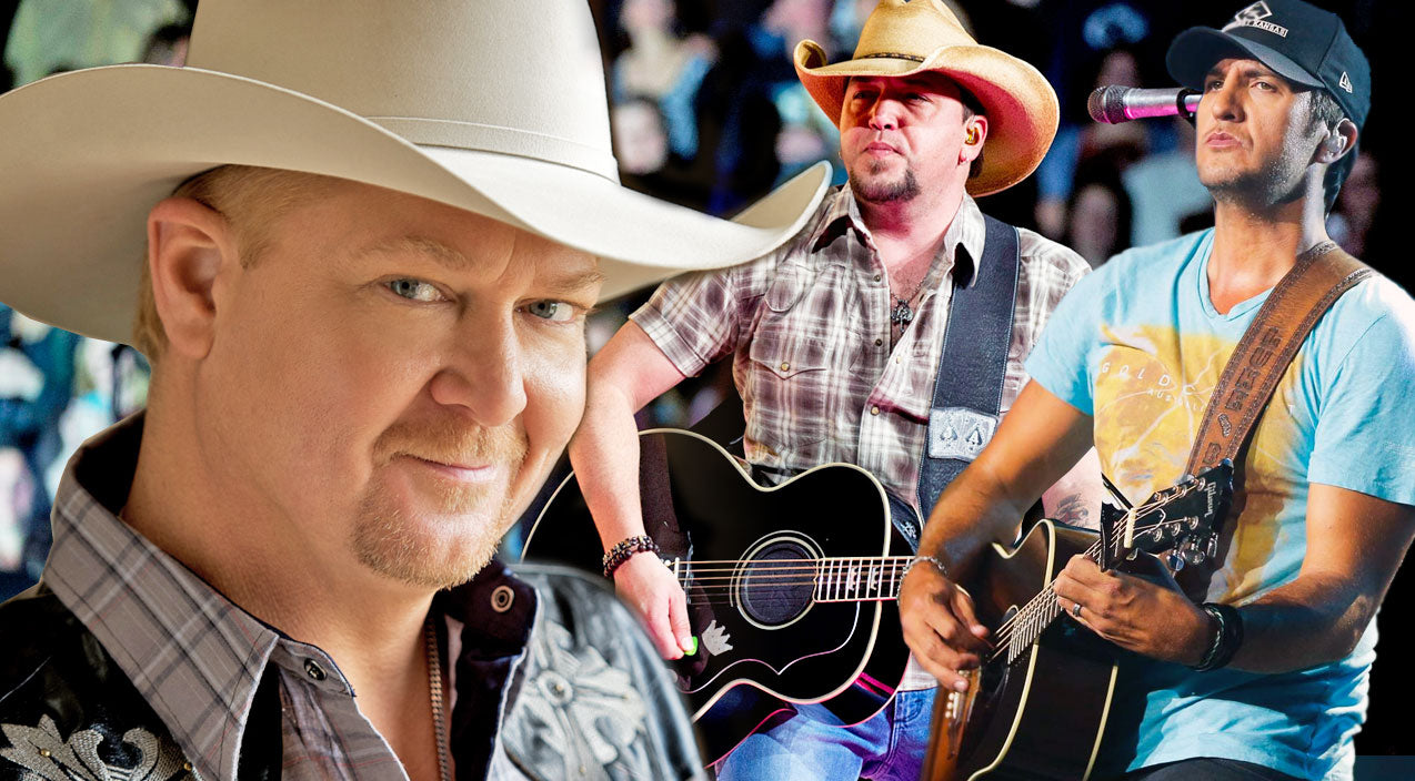 Tracy lawrence Songs | Tracy Lawrence, Luke Bryan and Jason Aldean Throw It Back With 'Time Marches On'! | Country Music Videos