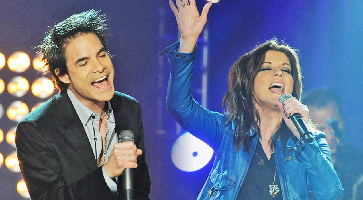 Martina mcbride Songs | Martina McBride Thrills Fans With Surprise 'Broken Wing' Duet With Rock Band Train | Country Music Videos