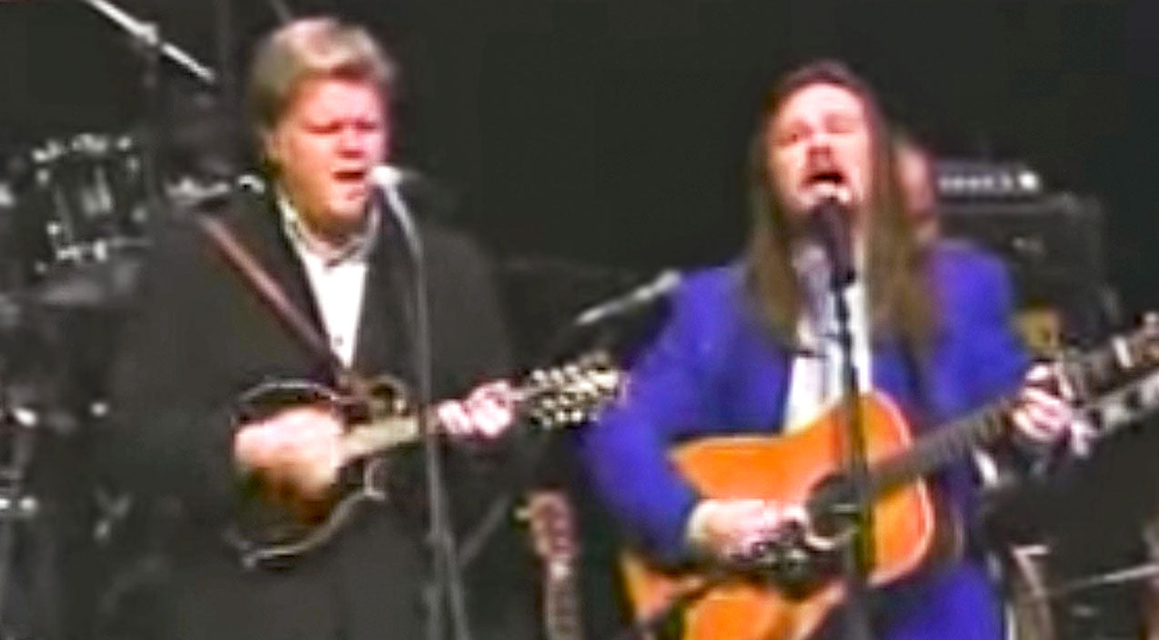 Travis tritt Songs | Hear The Sweet Sound Of Travis Tritt & Ricky Skaggs Singing Together On 'Man Of Constant Sorrow' | Country Music Videos