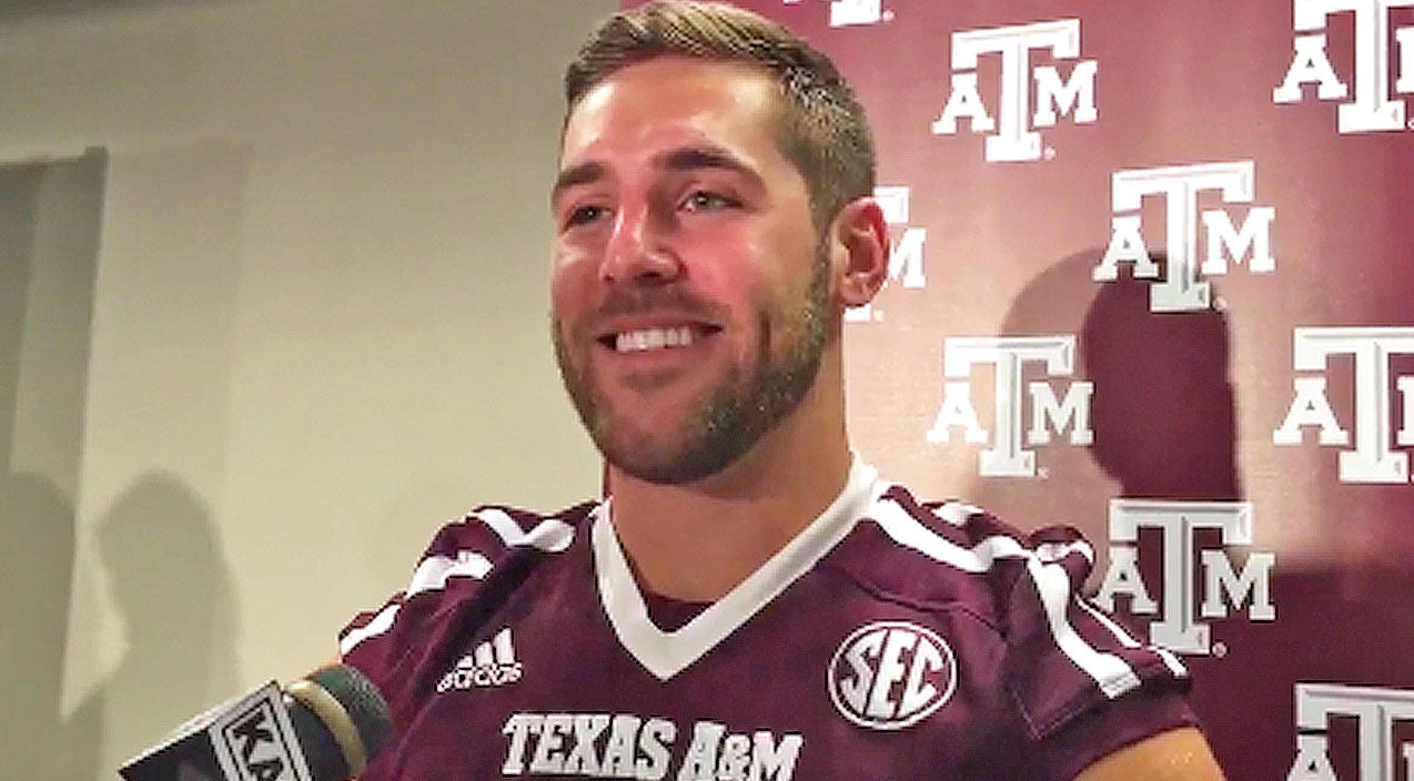 Sadie robertson Songs | Quarterback Trevor Knight Gets Peppered With Questions About Girlfriend Sadie Robertson | Country Music Videos
