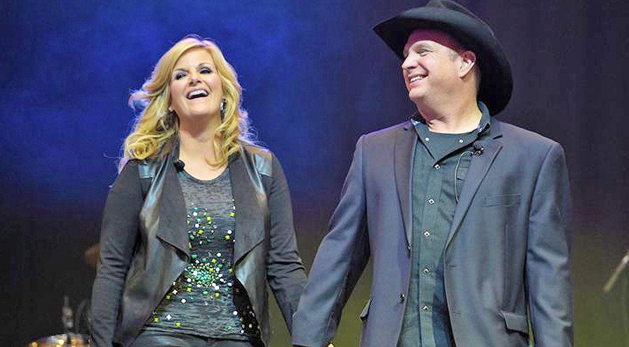 Trisha yearwood Songs | Garth Brooks Gives Trisha Yearwood Texas-Sized Birthday Surprise | Country Music Videos