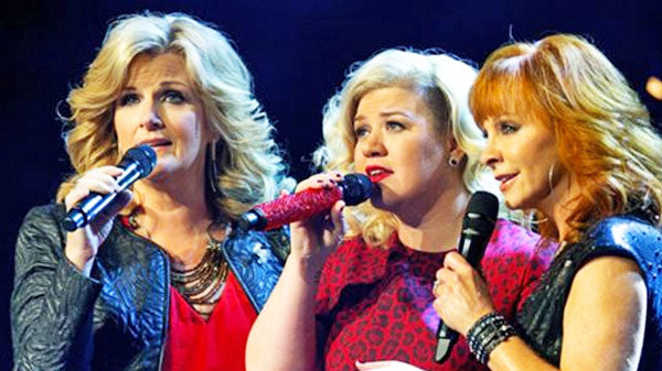 Trisha yearwood Songs | Reba McEntire, Trisha Yearwood, and Kelly Clarkson Amaze With