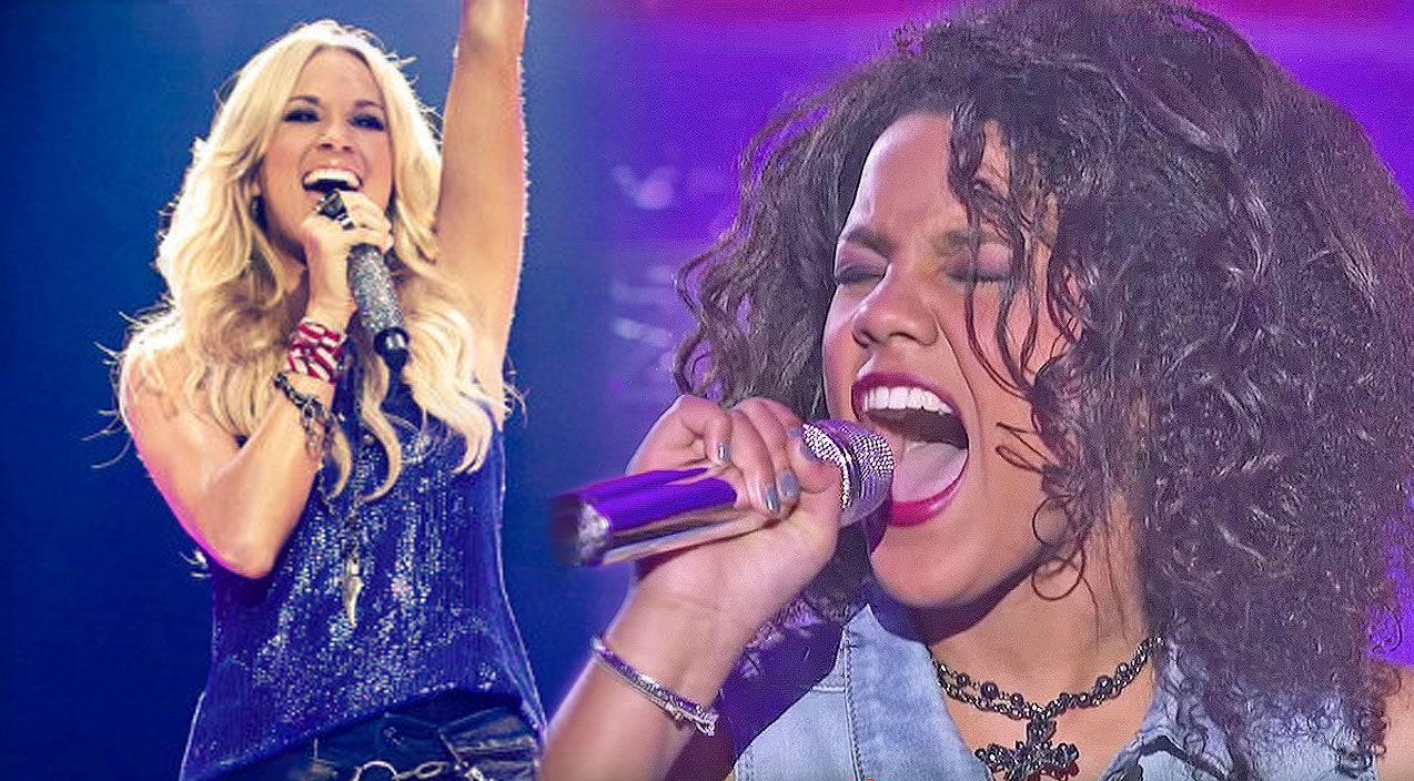 Tristan mcintosh Songs | Fifteen-Year-Old 'American Idol' Standout Takes On Carrie Underwood Hit | Country Music Videos
