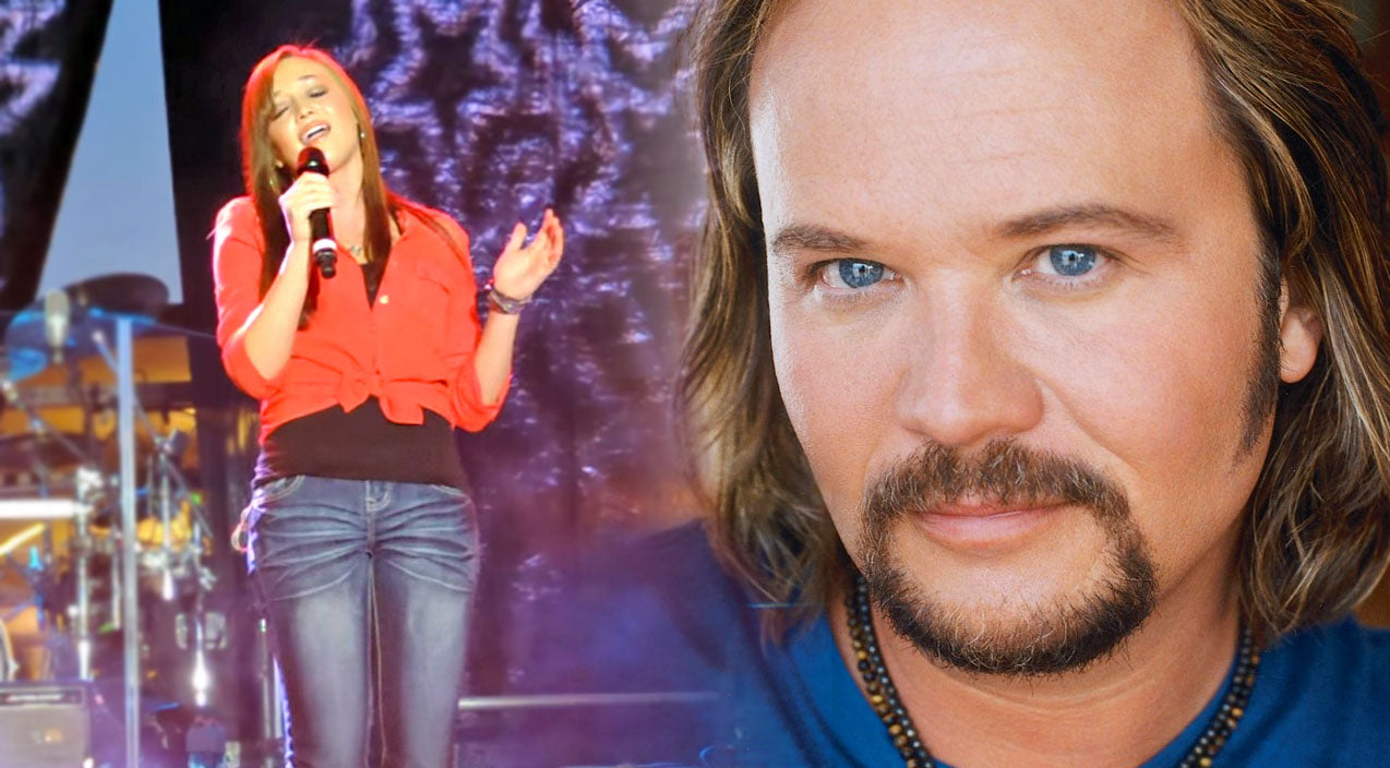 Travis tritt Songs | Travis Tritt's Daughter, Tyler Reese, Delivers With Electrifying National Anthem! | Country Music Videos