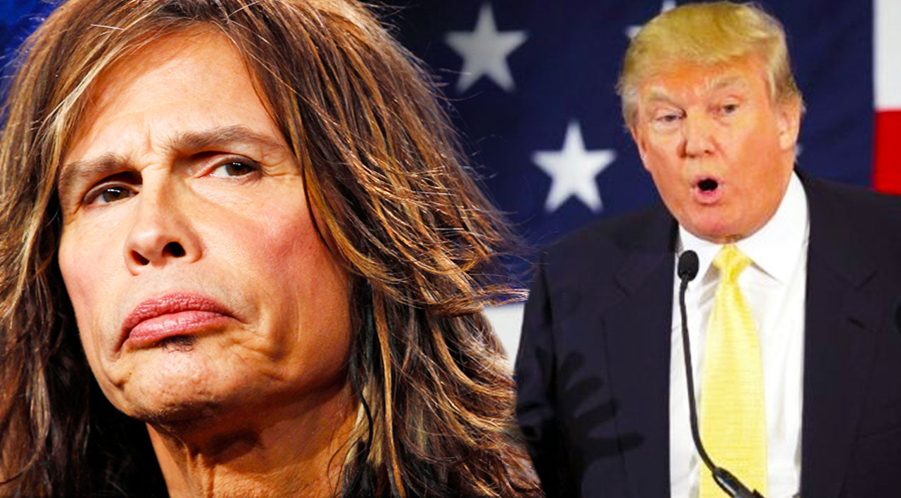 Steven tyler Songs | Steven Tyler Takes Legal Action Against Donald Trump And His Campaign | Country Music Videos