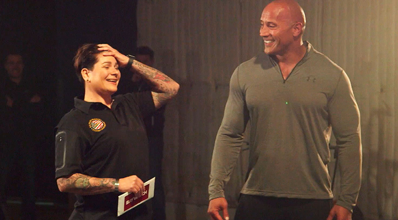 The rock Songs | Dwayne 'The Rock' Johnson Leaves Purple Heart Recipient Speechless After Epic Surprise | Country Music Videos