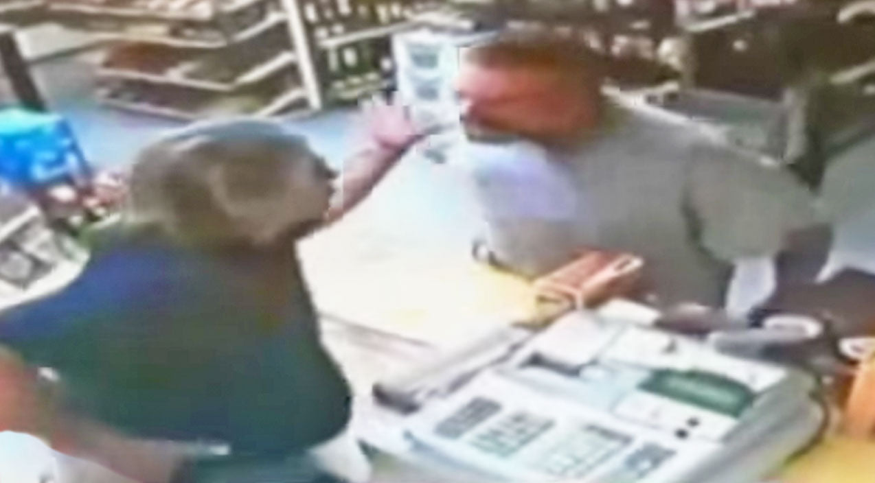 When Man Attempts To Rob Liquor Store, You Won't Believe What This Veteran Does Next   Country Music Videos