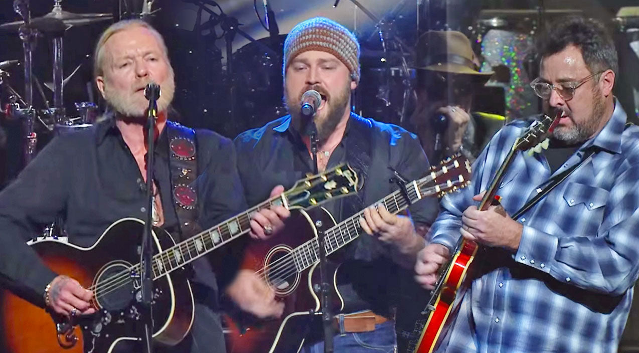 Zac brown Songs | Gregg Allman, Vince Gill & Zac Brown Perform 'Midnight Rider' (VIDEO) | Country Music Videos