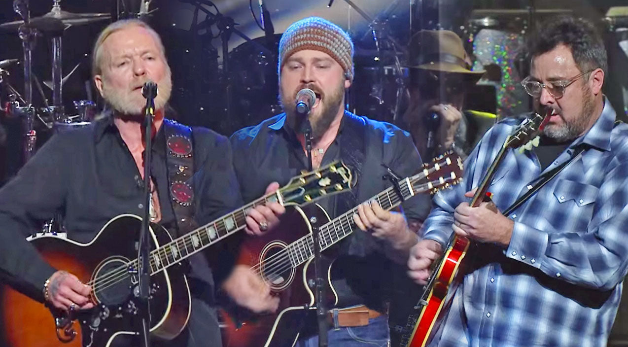 Zac brown Songs | Gregg Allman, Vince Gill & Zac Brown Perform 'Midnight Rider' (LIVE) (WATCH) | Country Music Videos
