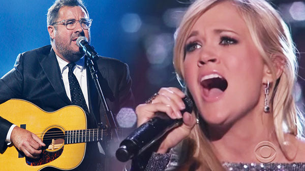 Vince gill Songs | Vince Gill & Carrie Underwood - How Great Thou Art (Standing Ovation) (VIDEO) | Country Music Videos