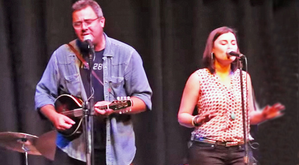 Vince gill Songs | Vince Gill & Daughter Jenny Perform Duet To 'Whenever You Come Around' | Country Music Videos