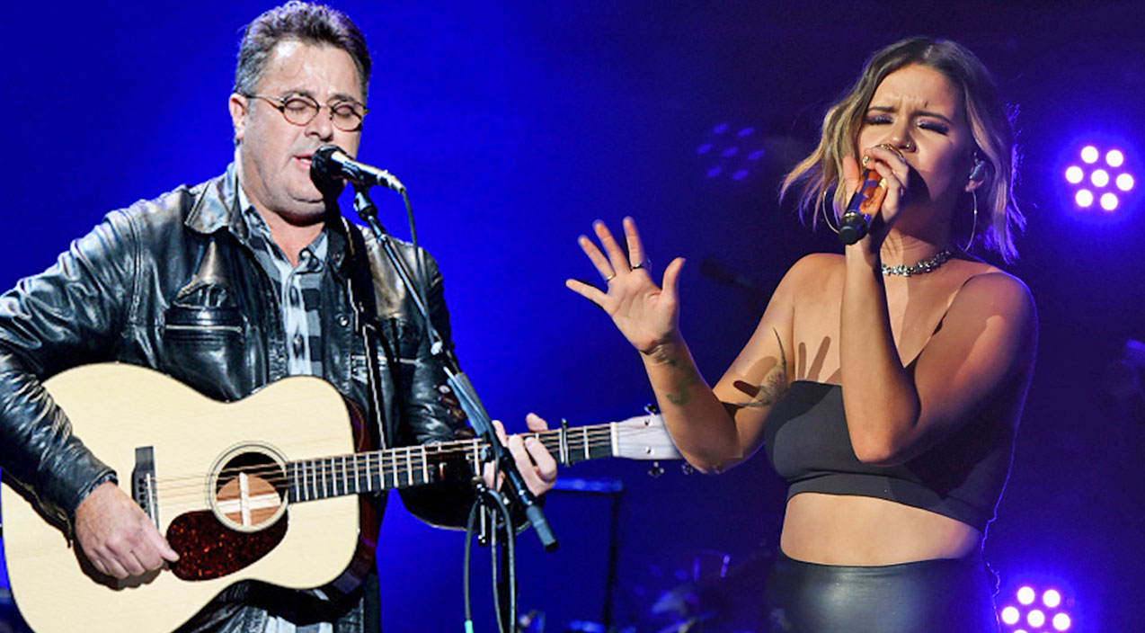 Vince gill Songs | Maren Morris & Vince Gill Honor Vegas Victims With Tear-Jerking Tribute | Country Music Videos