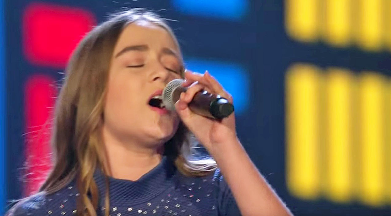 The voice kids Songs | 14-Year-Old's Mighty Voice Commands Cover Of Song Recorded By Reba McEntire | Country Music Videos