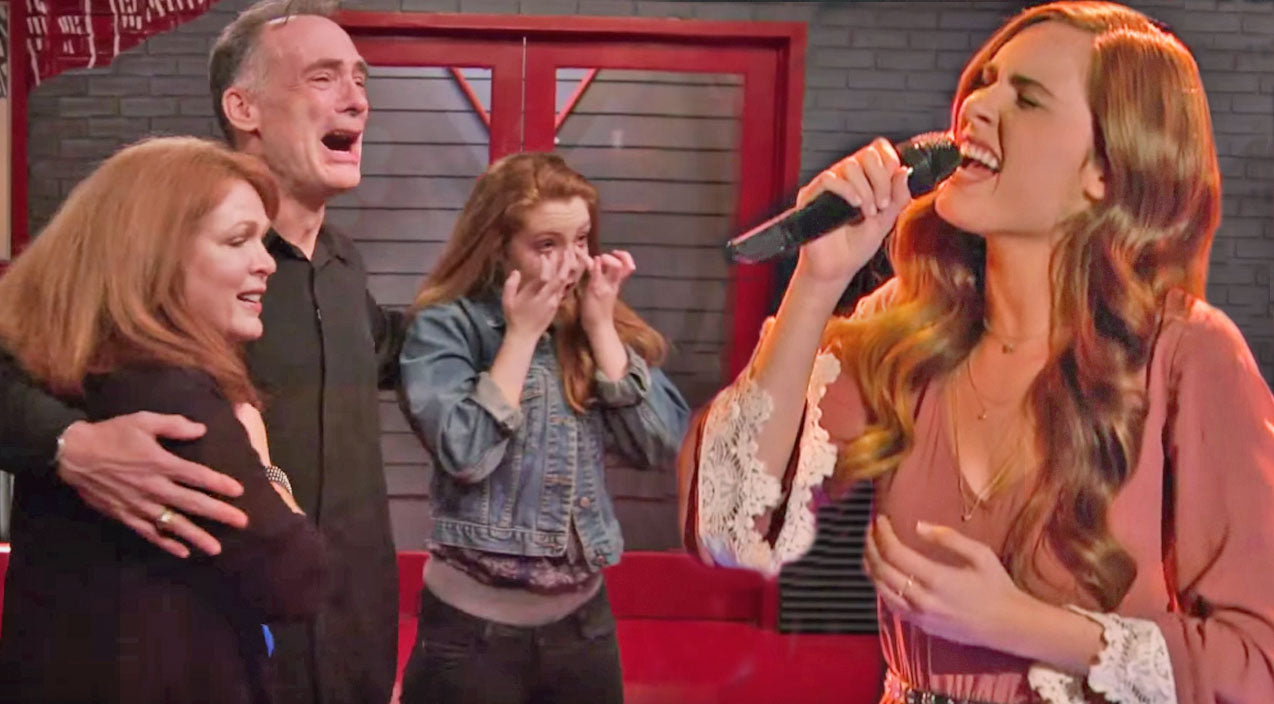 The voice Songs | Sixteen-Year-Old Girl Brings Family To Tears With Beautiful Ed Sheeran Cover On The Voice | Country Music Videos
