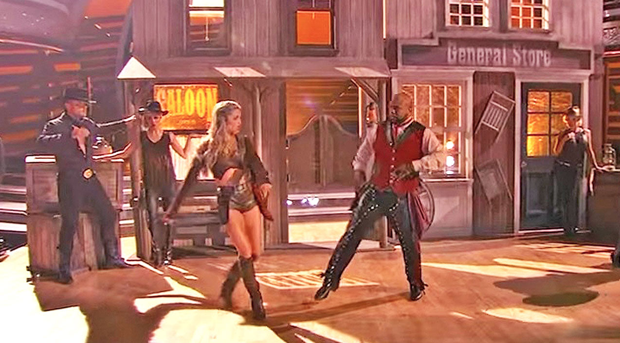 'Dancing With The Stars' Bring Us Back To The Old West In Jivin' Routine | Country Music Videos