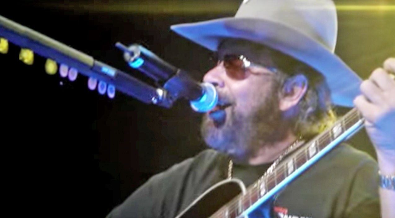 Hank williams jr. Songs | Crowd Goes Wild For Hank Williams Jr.'s 'Whiskey Bent And Hell Bound' | Country Music Videos