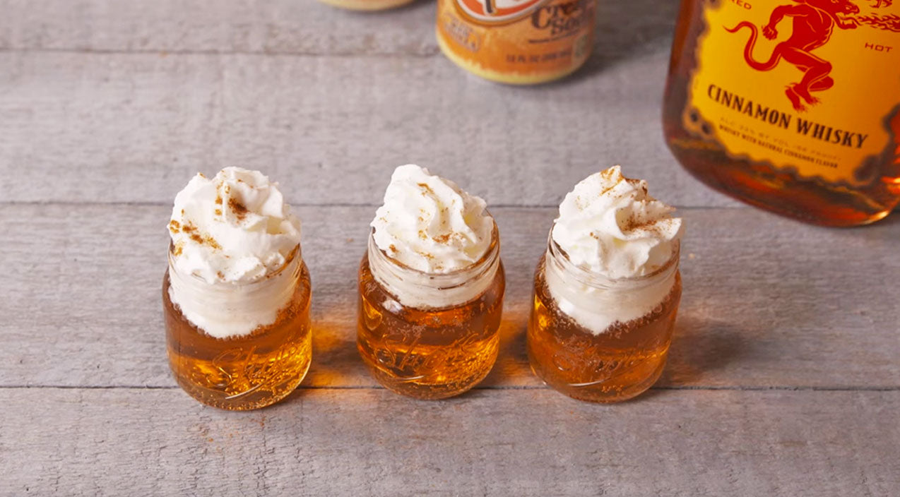 The Best Thing Since Whiskey: Cinnamon Roll Fireball Shots | Country Music Videos