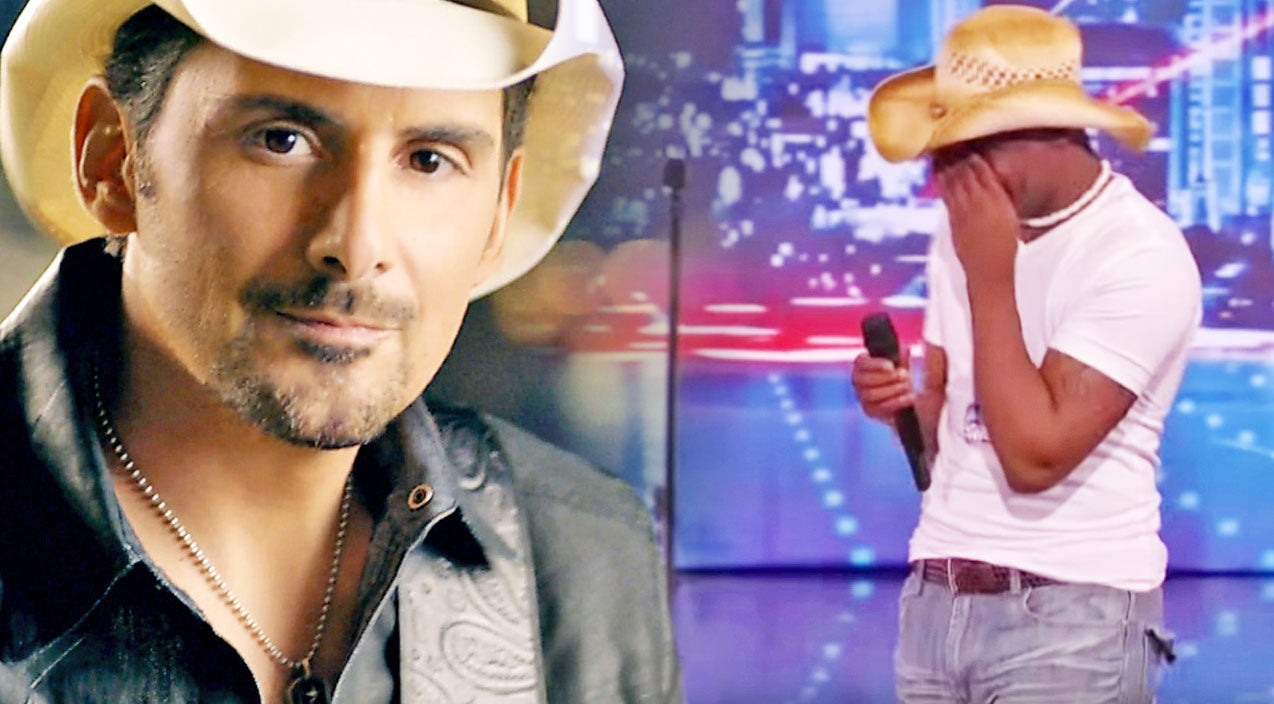 Brad paisley Songs | Young Man Stuns Judges With Tearful 'Whiskey Lullaby' Performance | Country Music Videos