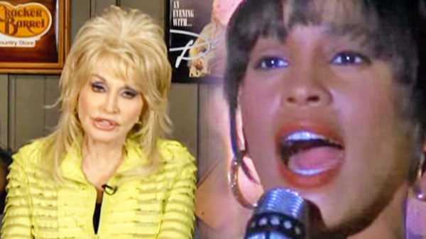 Dolly parton Songs | Dolly Parton Talks Whitney Houston Singing 'I Will Always Love You' (VIDEO) | Country Music Videos